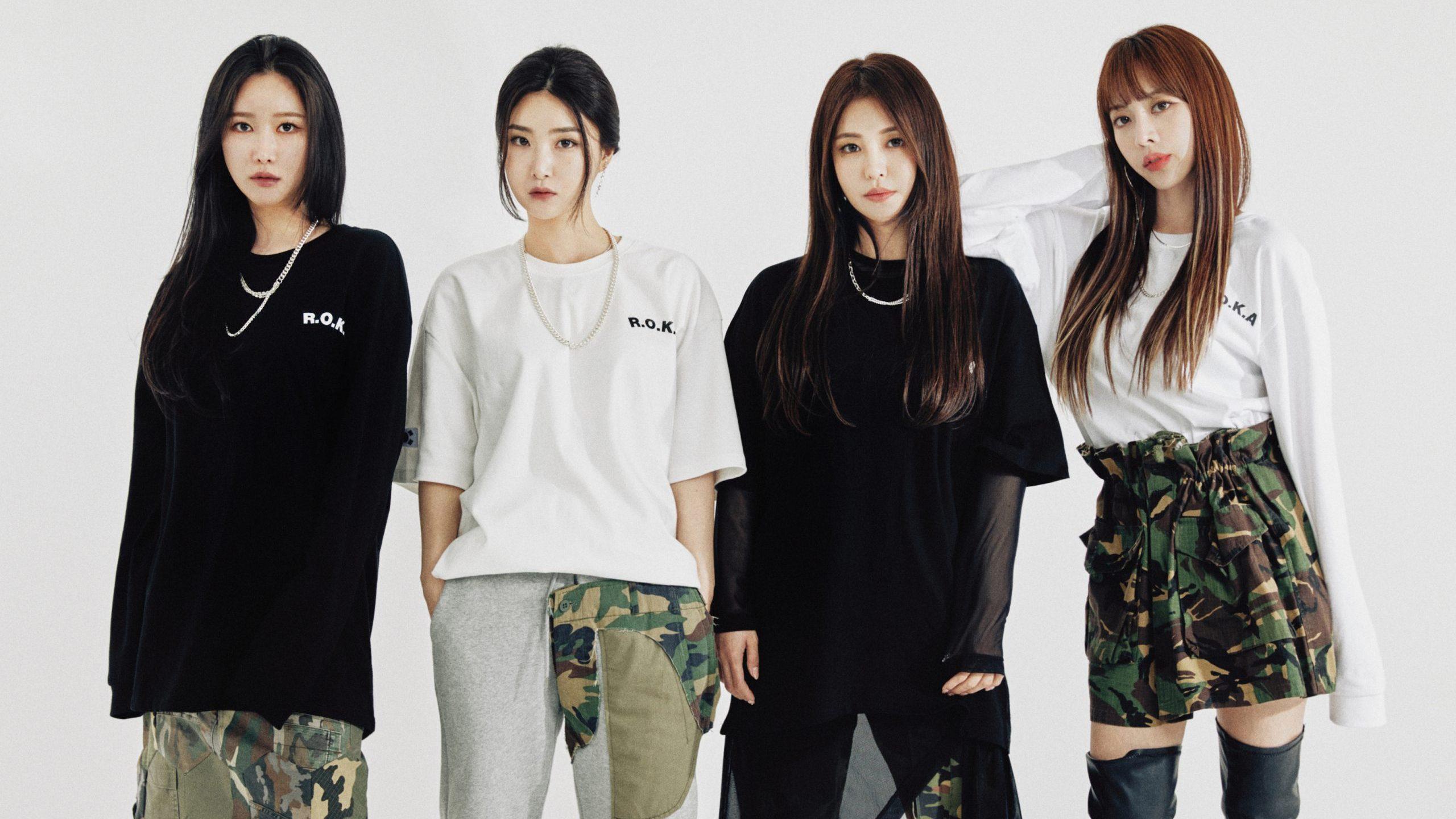 Brave Girls revela prévia do bastão de luz oficial | Asia ON